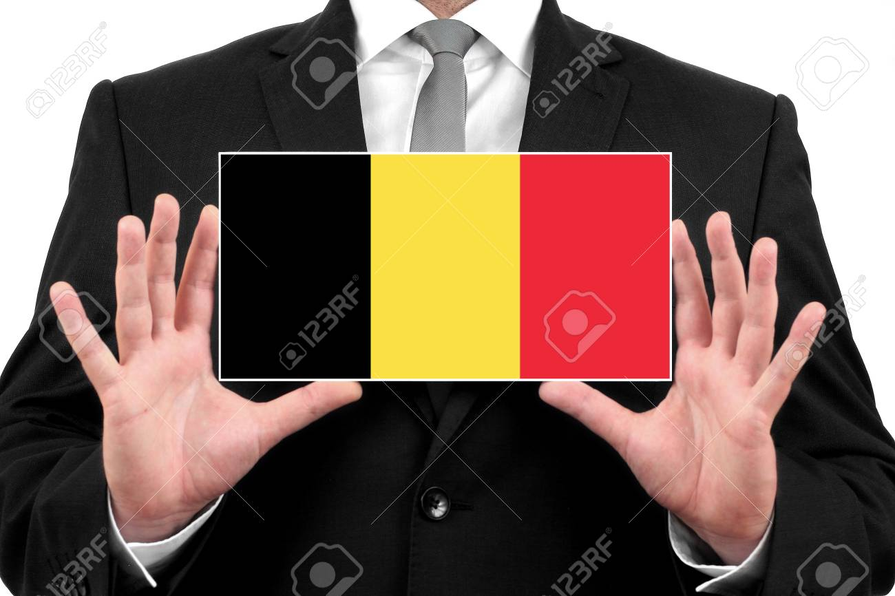 Businessman holding a business card with belgium flag stock photo businessman holding a business card with belgium flag stock photo 26442066 reheart Choice Image