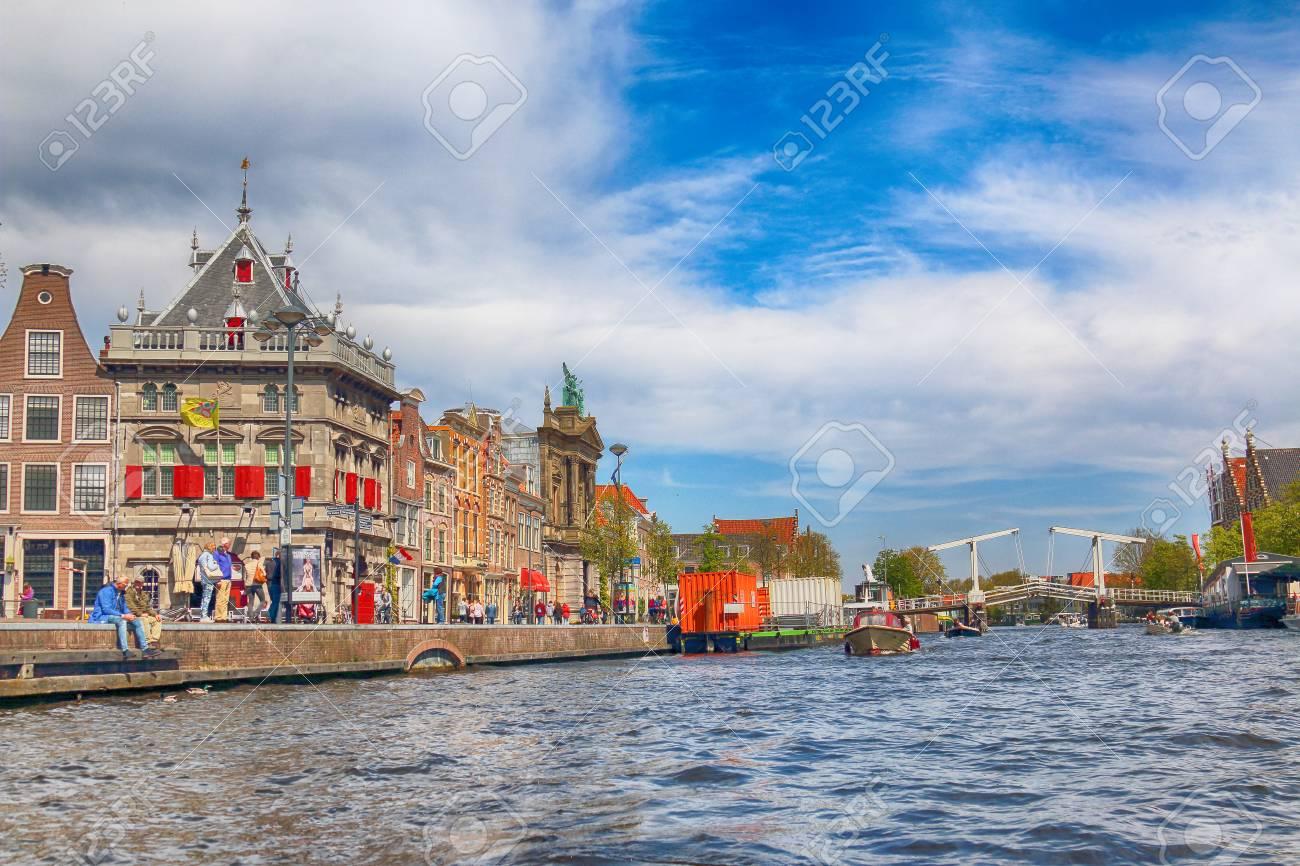 ハールレム、オランダ - 2017 年...