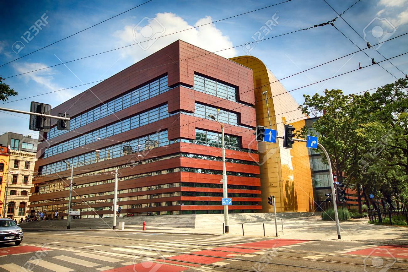 WROCLAW, POLAND - AUGUST 18, 2017: The National Forum of Music
