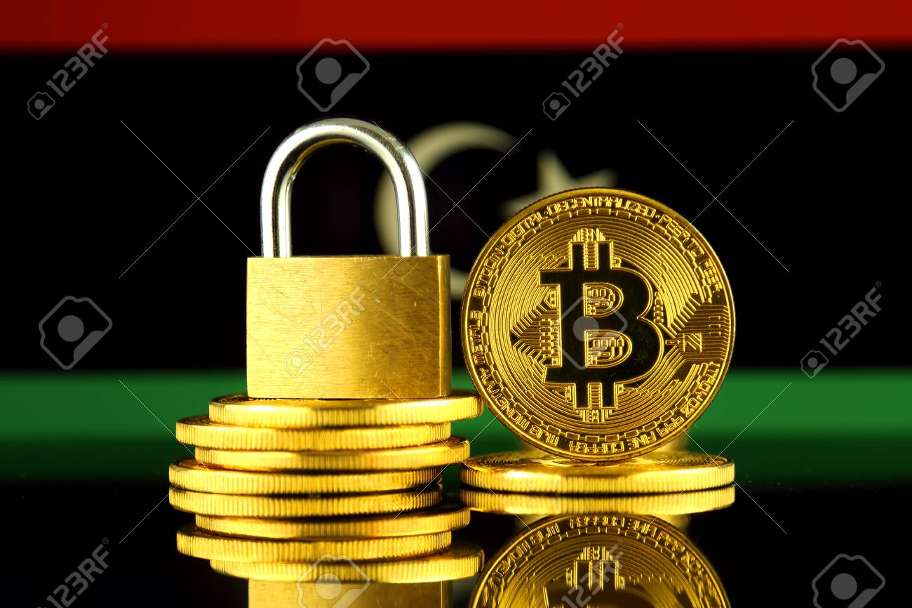 Physical version of bitcoin golden padlock and libya flag physical version of bitcoin golden padlock and libya flag prohibition of cryptocurrencies regulations ccuart Choice Image