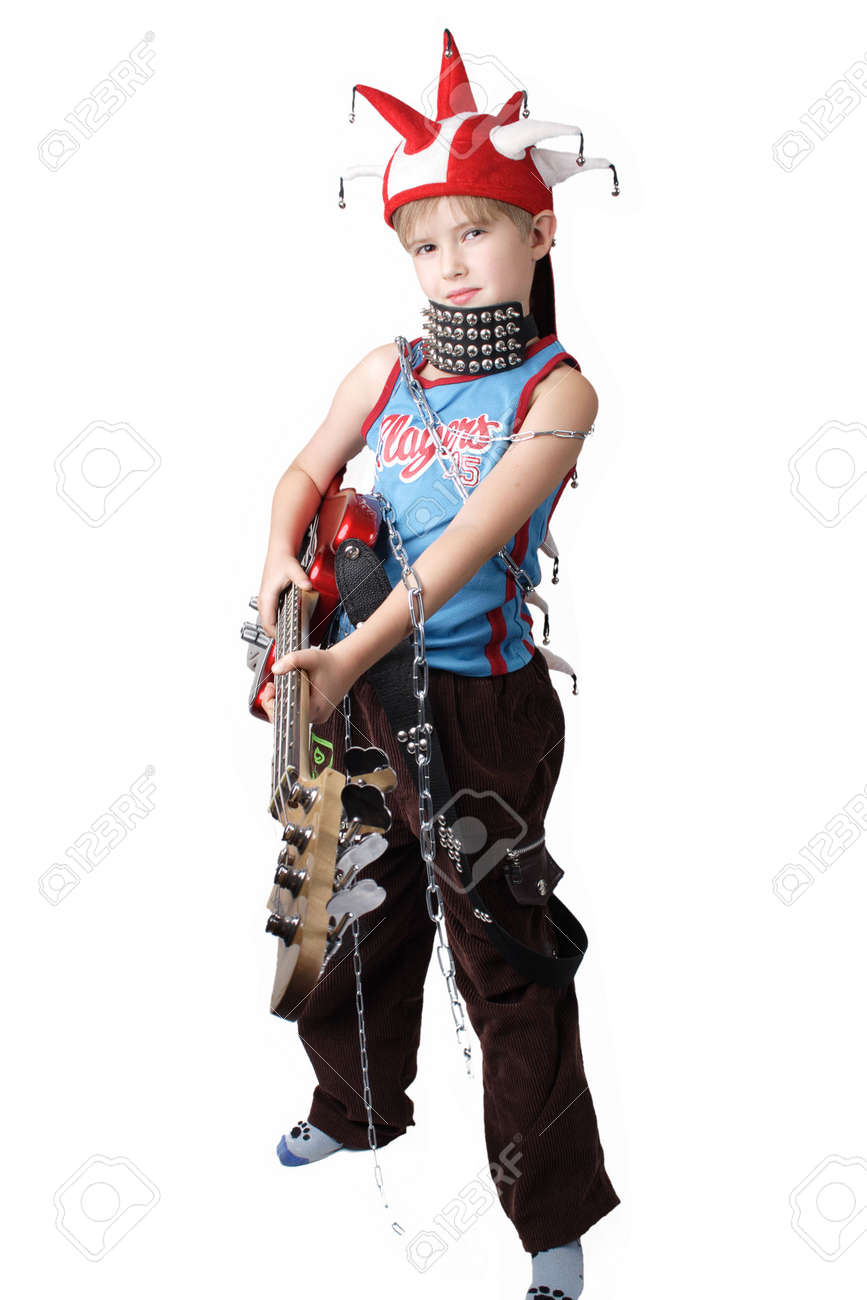 Shock idea for design involve chidren emotion. Isolated with clipping path. Stock Photo - 804943