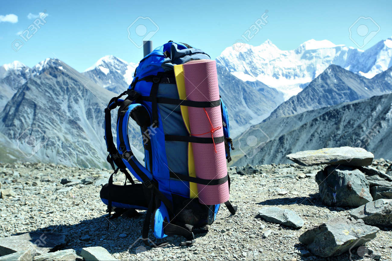 Camping trip background. Shot in a mountain. Stock Photo - 3649053
