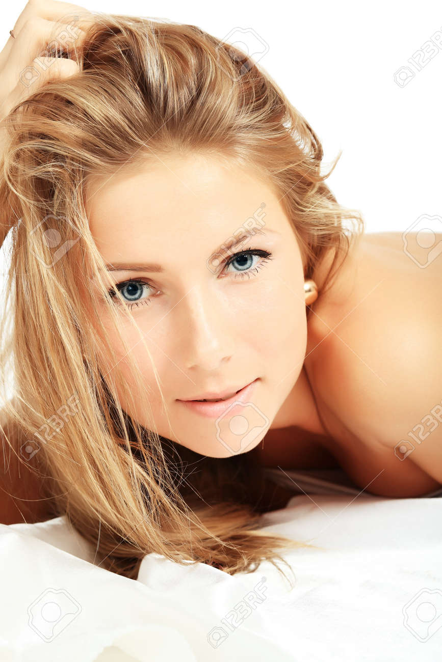 Portrait of a styled professional model. Theme: healthcare, beauty, fashion Stock Photo - 4347353