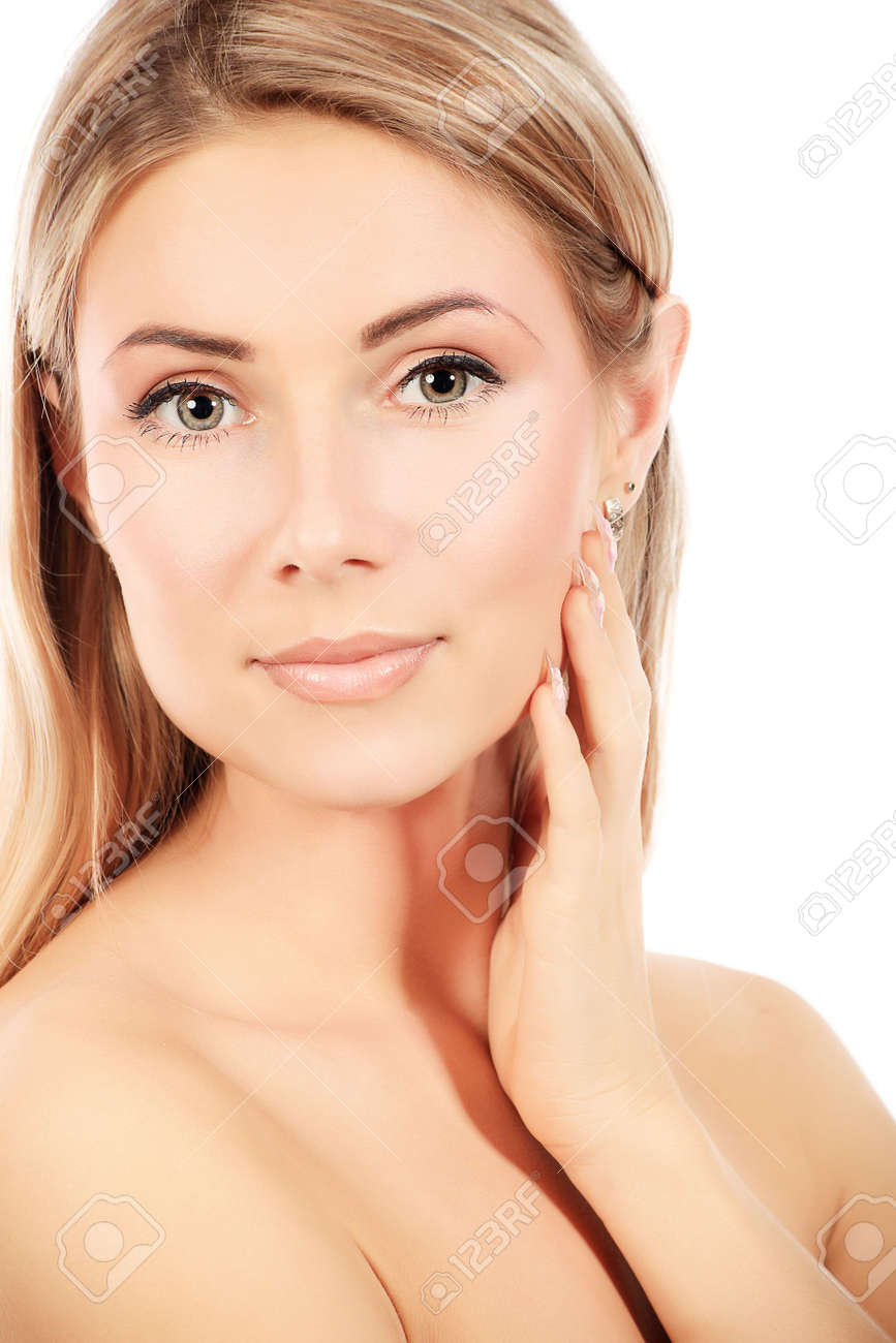 Portrait of a styled professional model. Theme: healthcare, beauty, fashion Stock Photo - 6078508