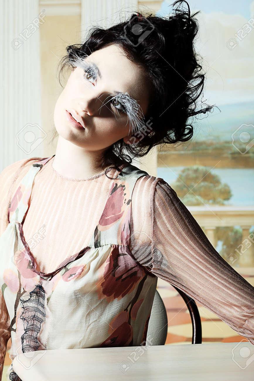 Fashion project, retro style. Stock Photo - 6939896