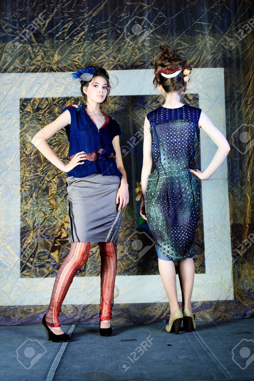 Fashion project, retro style. Stock Photo - 7096256