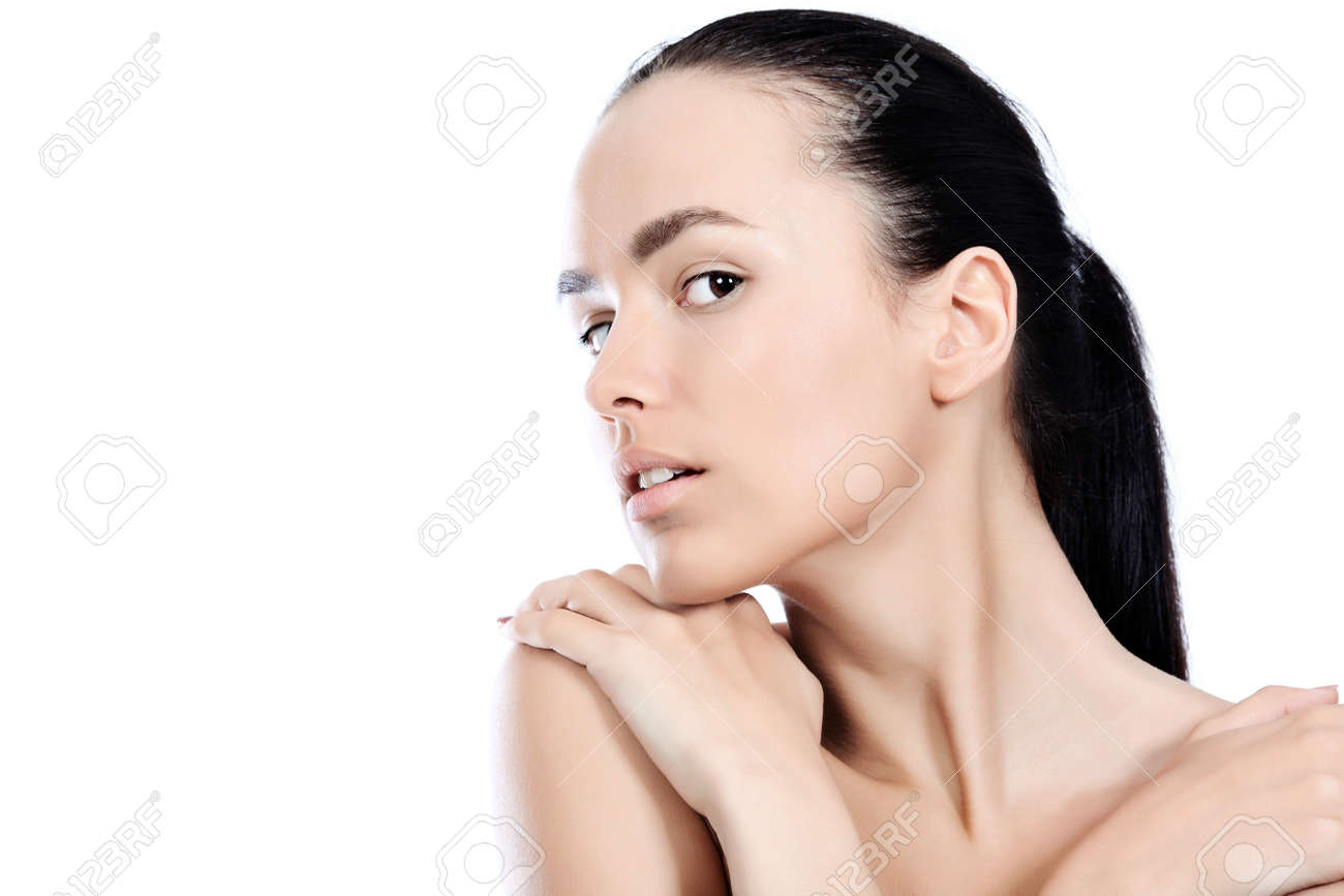 Portrait of a styled professional model. Theme: healthcare, beauty, fashion Stock Photo - 7323300