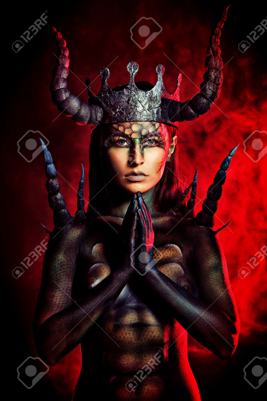 женщина дьявол картинки