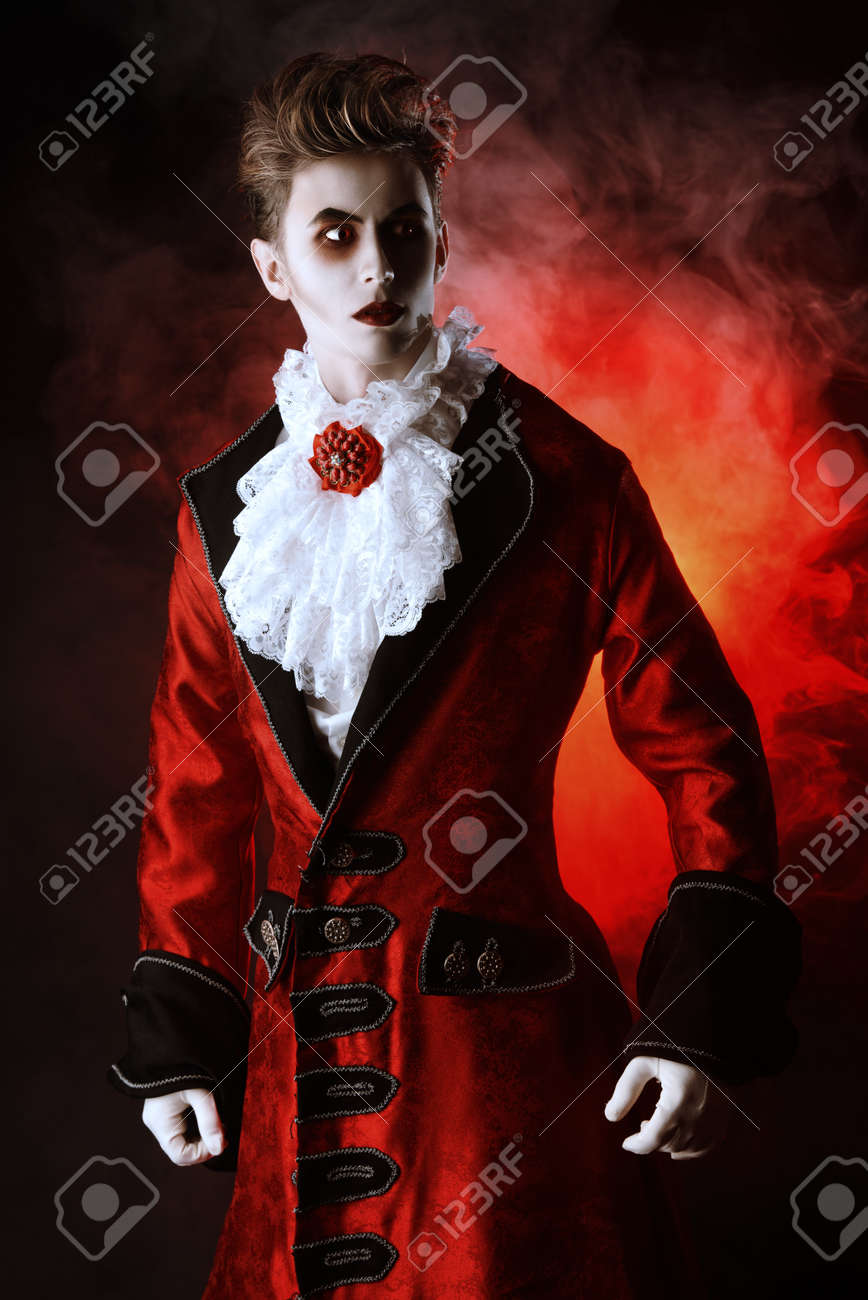 Bewitching Handsome Male Vampire Halloween Dracula Costume Stock Photo Picture And Royalty Free Image Image 36682530
