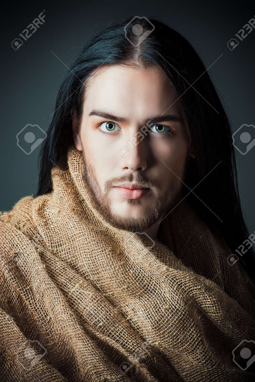 portrait of jesus christ of nazareth stock photo picture and