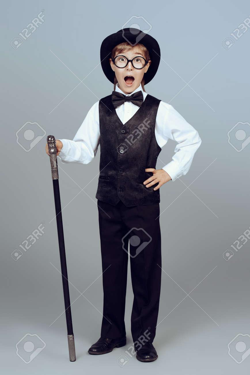 Elegant Boy In A Suit 5940e36bc8d