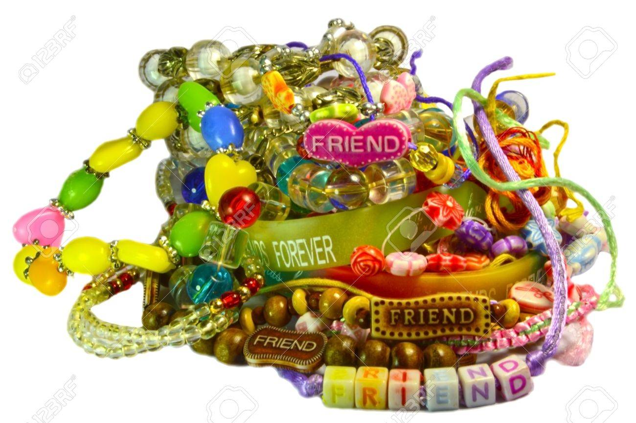 pin bands i love klutz cobweb bracelet friendship