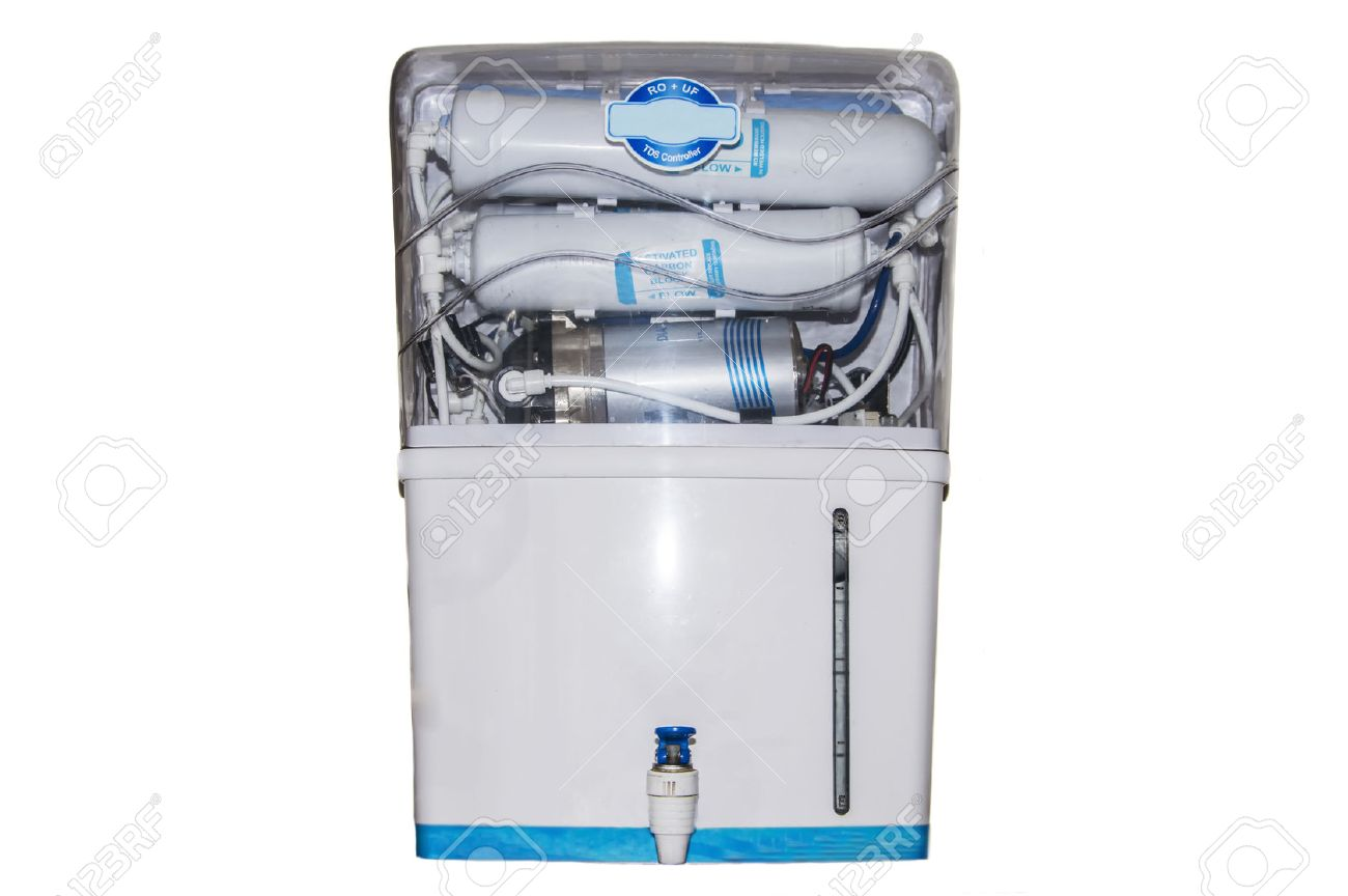 Water Purifier Machine Isolated On White Background. Stock Photo, Picture  And Royalty Free Image. Image 30024496.