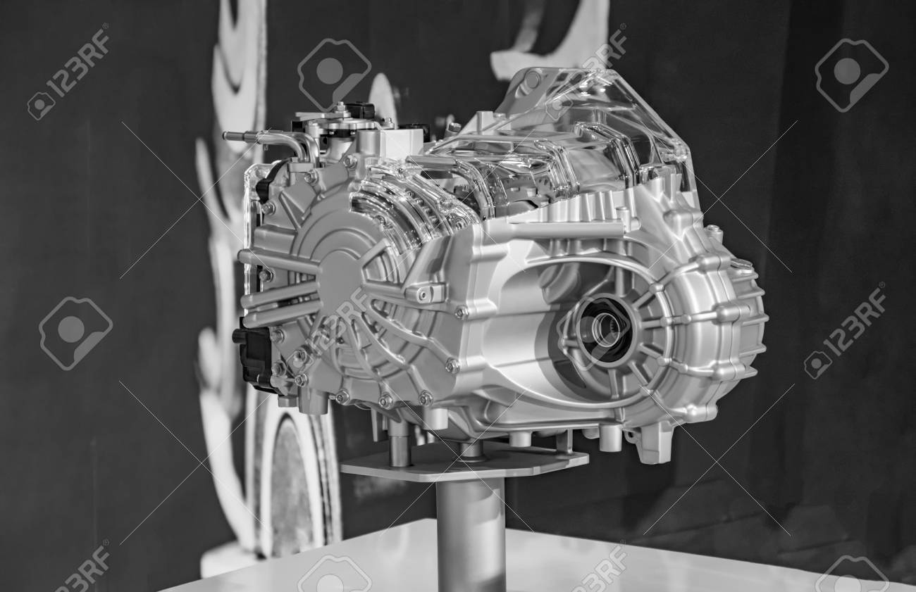 Model Of Car Engine On Display Stock Photo Picture And Royalty Free Image Image 56285071
