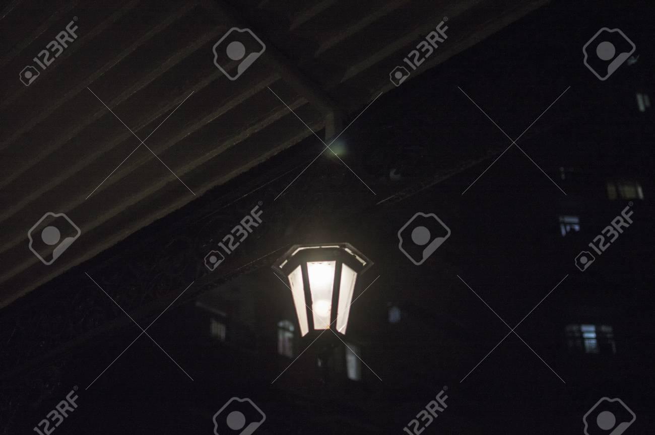 L illuminazione con lampada al gazebo e la sua lampadina è