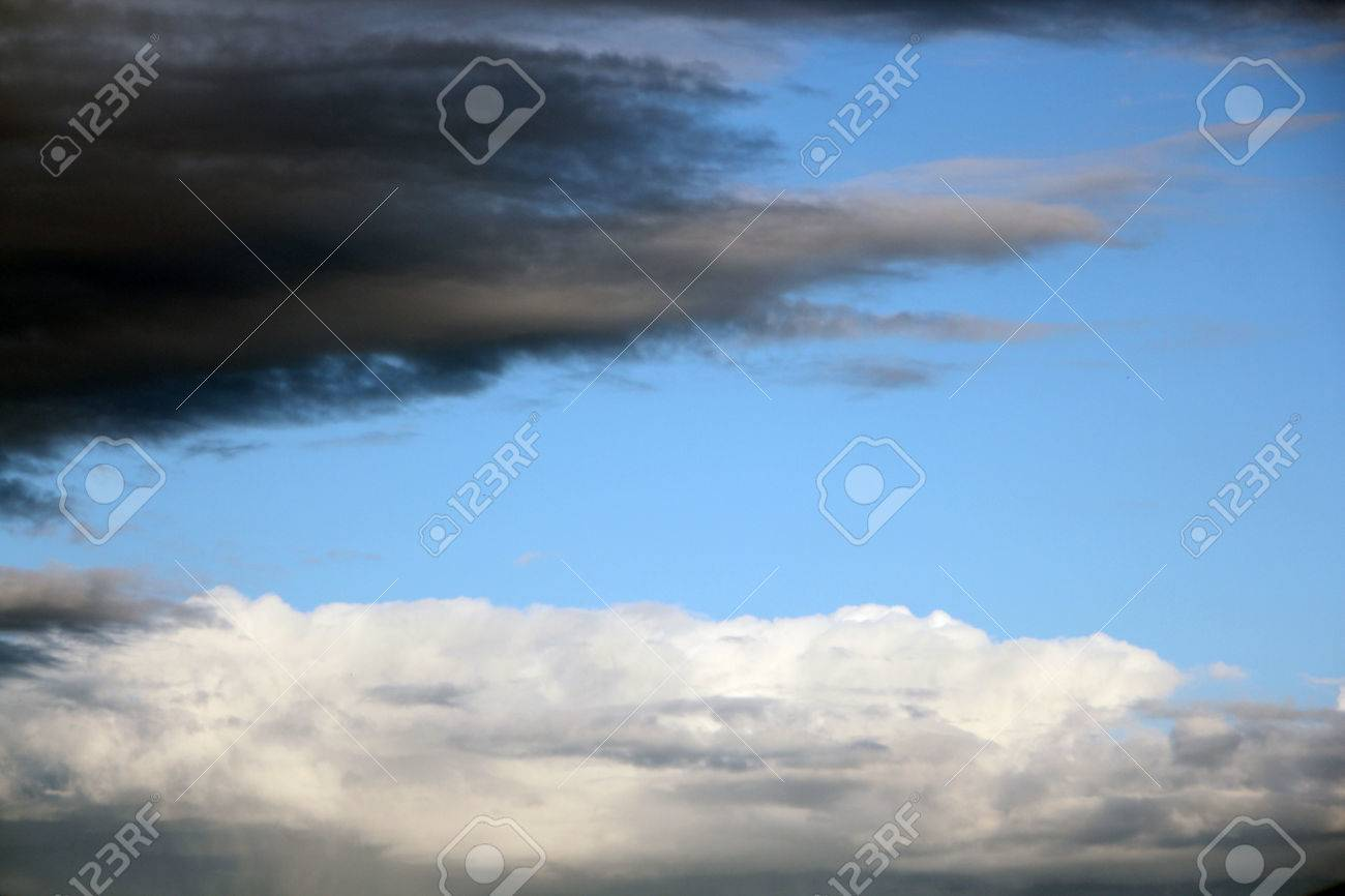 Beautiful gray and white clouds in the sky. - 50606359