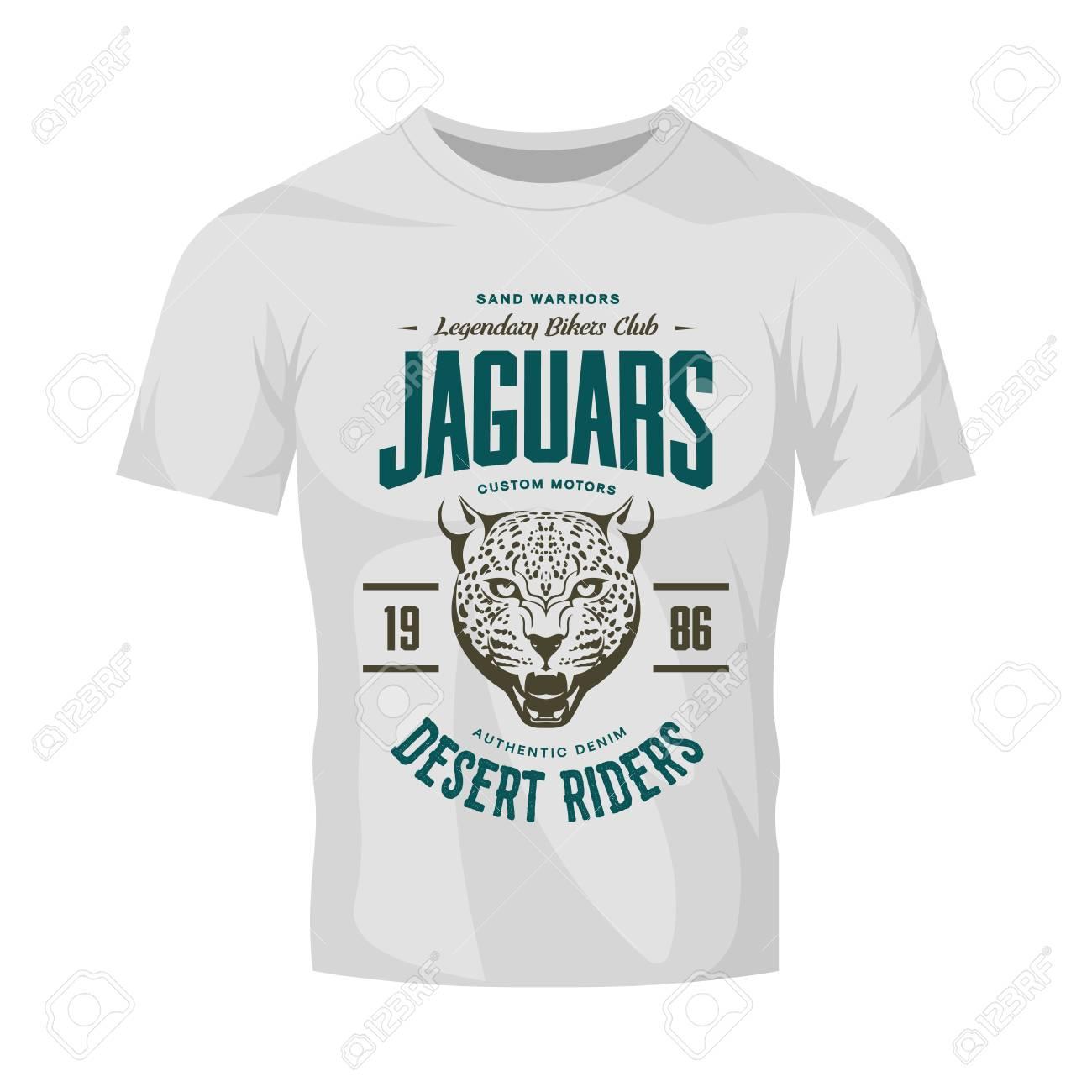 new arrival quality and quantity assured 2019 authentic Vintage furious jaguar custom moto club logo on white t-shirt..