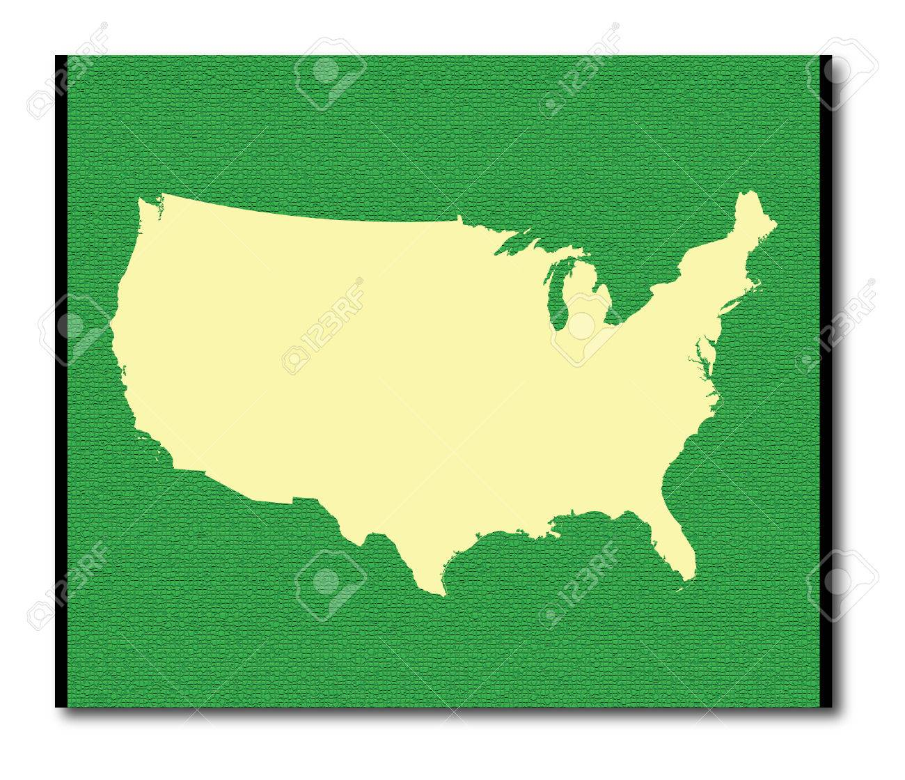 United States map outline in green color on virginia united states map, cancer statistics 2013 united states map, united states graphic map, united states economy map, product of the usa, united states agriculture map,