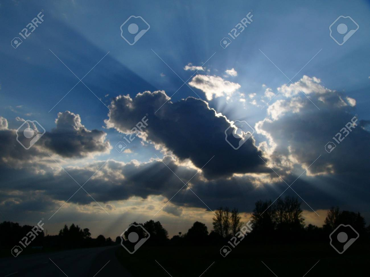 Clouds before rain Stock Photo - 401971