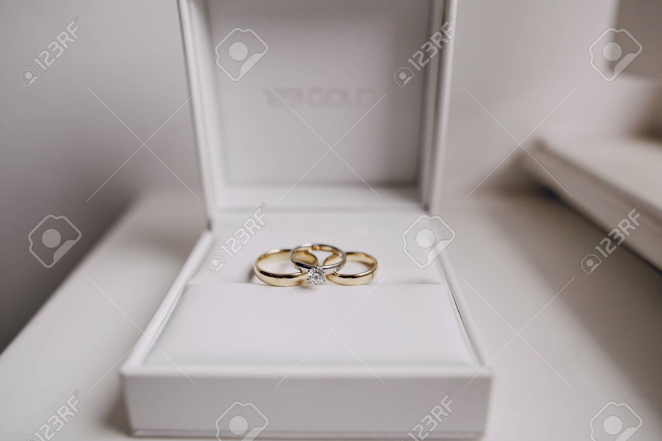 Wedding Rings Hd Stock Photo Picture And Royalty Free Image Image