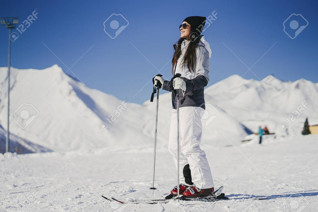 special sales good selling limited quantity girls with ski outfit