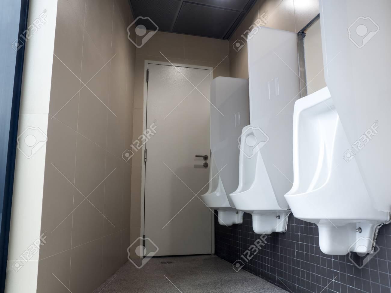 Stock Photo   Toilet Menu0027s Room.Close Up Row Of Outdoor Urinals Men Public  Toilet, Urinals In The Menu0027s Bathroom Urinals Design