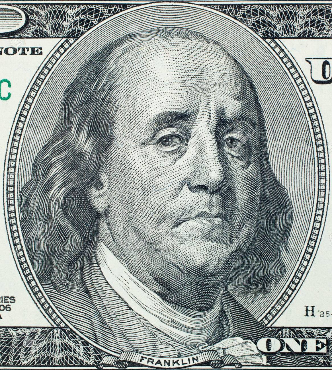 Sad president benjamin franklin portrait on 100 us dollar bill stock sad president benjamin franklin portrait on 100 us dollar bill stock photo 39815910 biocorpaavc Images