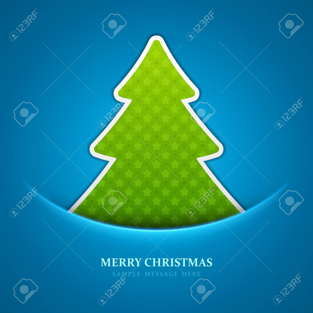 Christmas tree background Stock Vector - 15828403