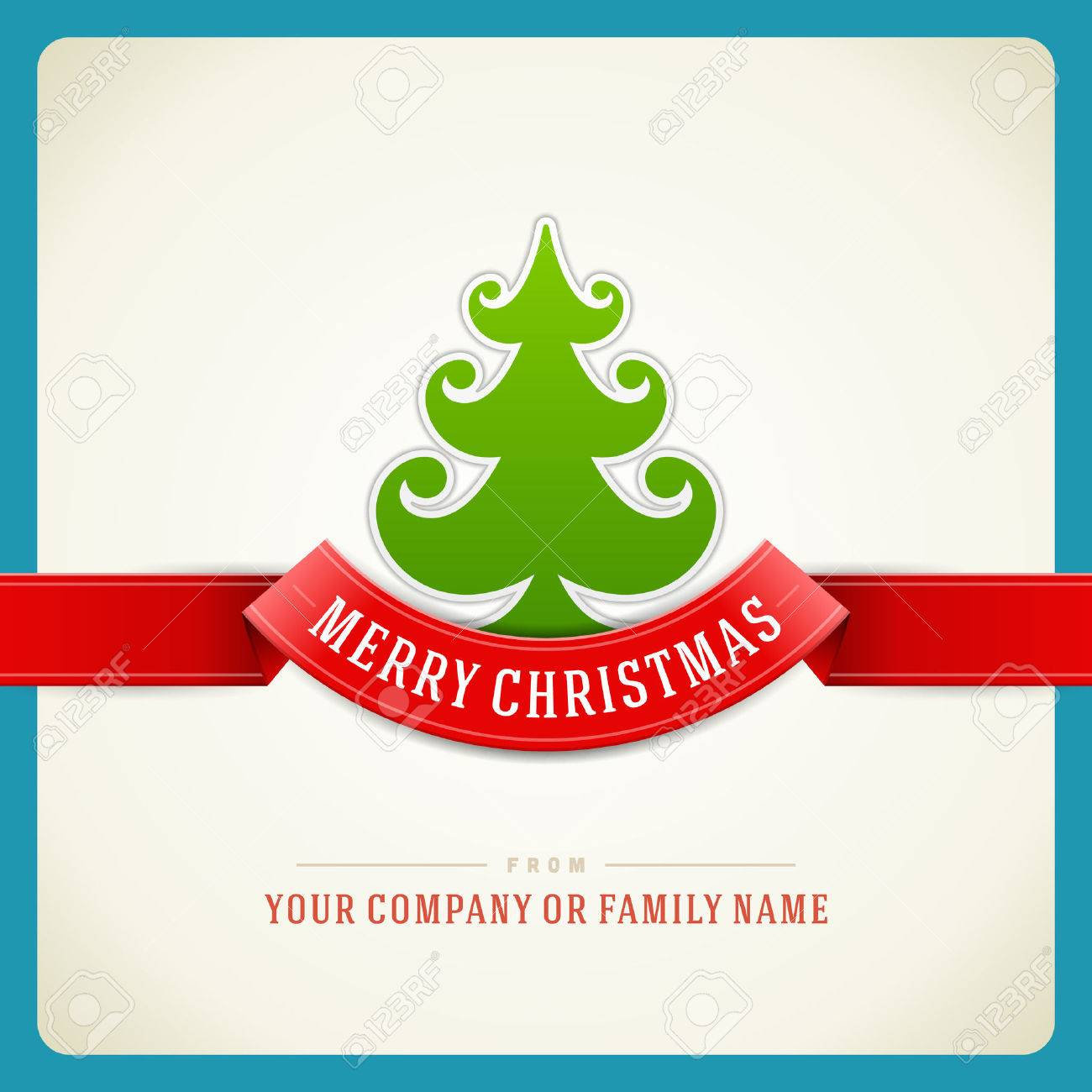 Christmas green tree and star background  Vector illustration Eps 10 Stock Vector - 23701658