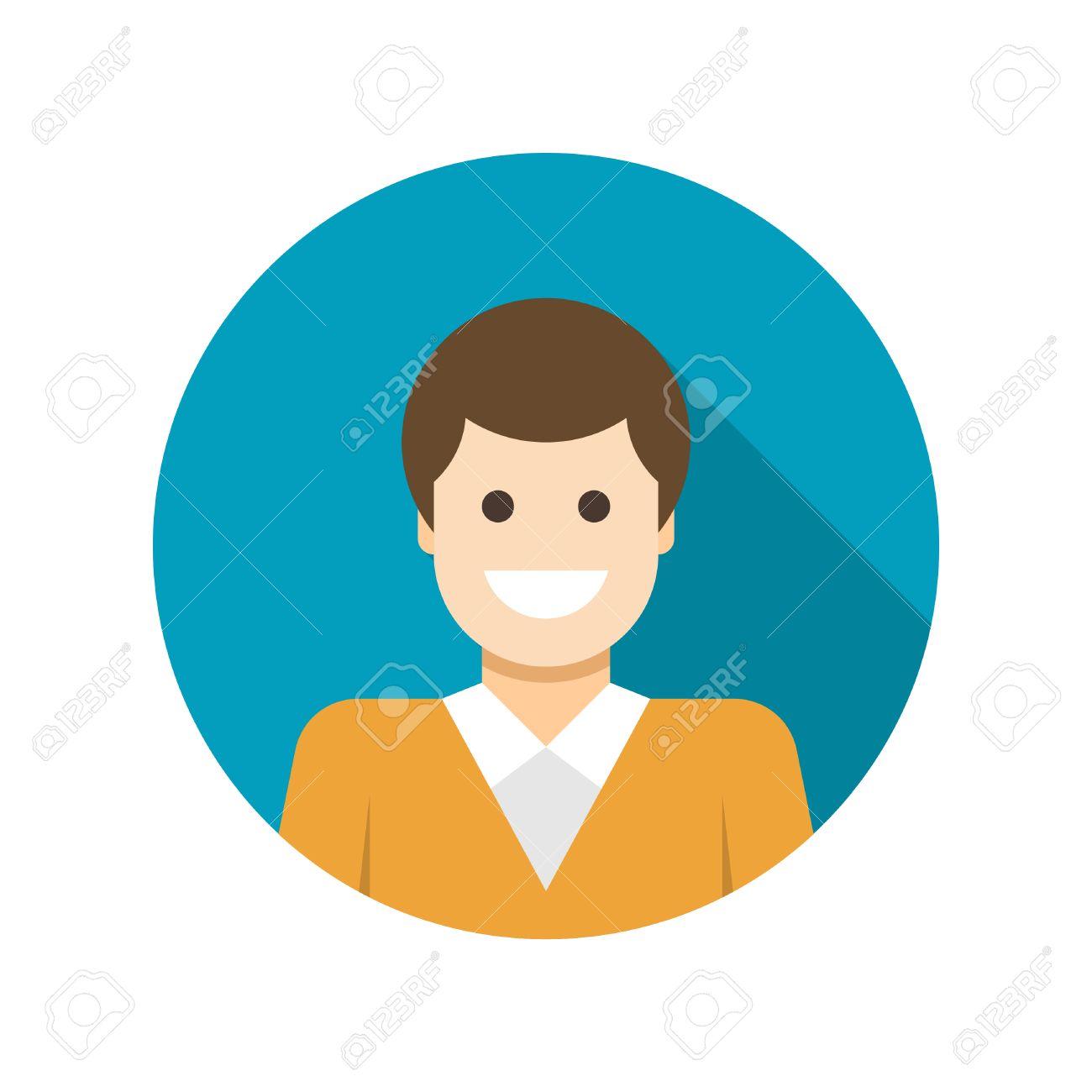 Wohnung Geschaftsmann Benutzerprofil Avatar Icon Design Und Langen Schatten Vektor Illustration Fur Website Und Werbefahnen Lizenzfrei Nutzbare Vektorgrafiken Clip Arts Illustrationen Image 37008789