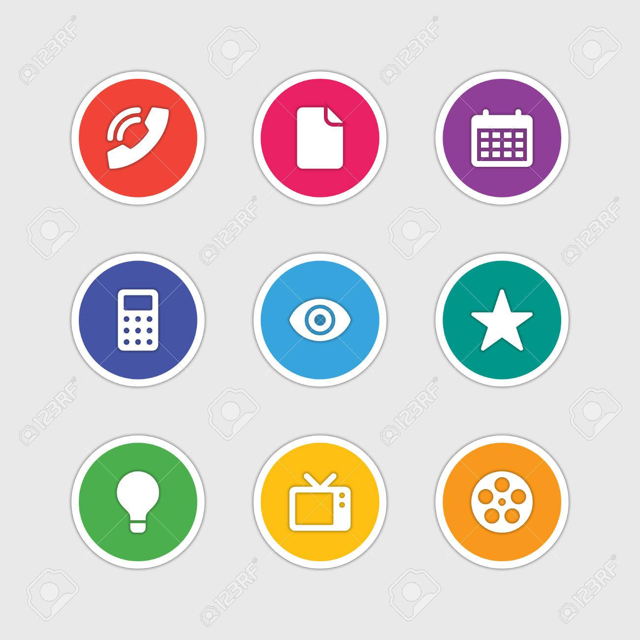 Design Sign Document And Material Symbols Style Icons Vector zMqVSUp