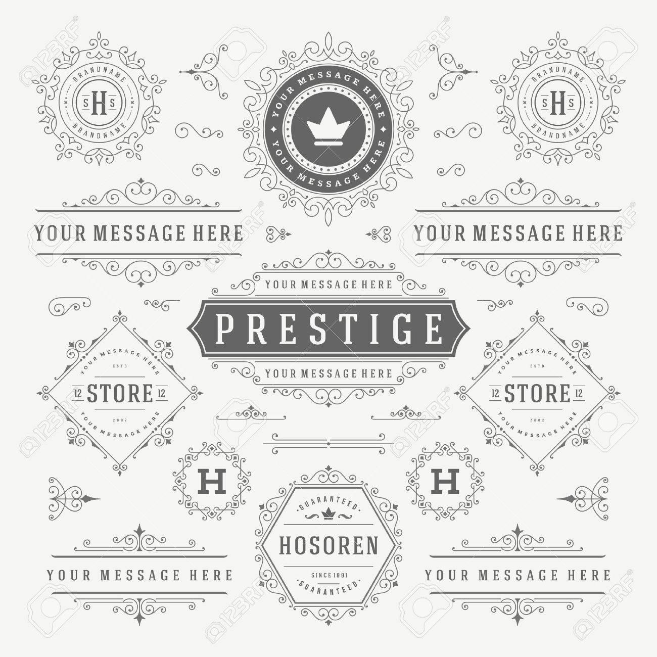 Flat line Digital Marketing Concept Vector illustration. Modern thin linear stroke vector icons. - 51466534