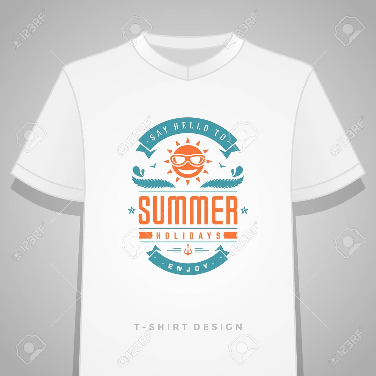 usa pas cher vente original de premier ordre pas cher à vendre Vacances d'été typographie t-shirt graphique impression modèle illustration  vectorielle.