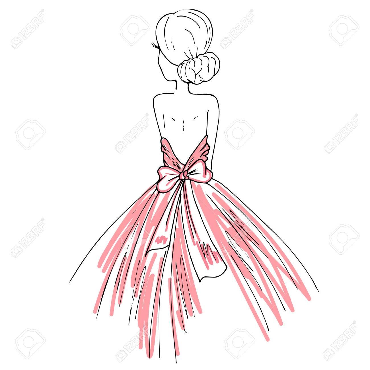 おしゃれなドレスでロマンチックな女の子