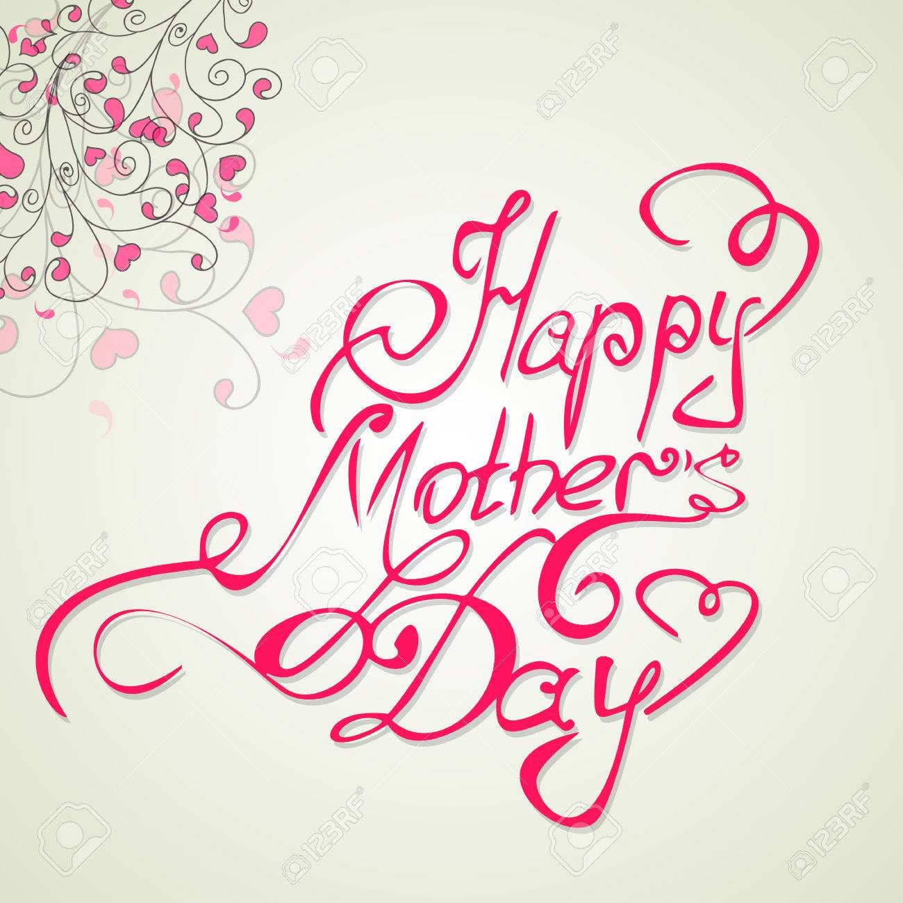 Background image 8841 - Happy Motherss Day Vintage Lettering Background Stock Vector 38528841