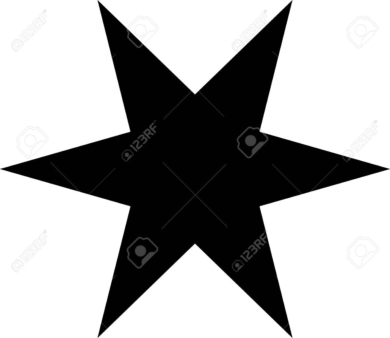 Black And White Stars Clipart   Free Images at Clker.com - vector clip art  online, royalty free & public domain