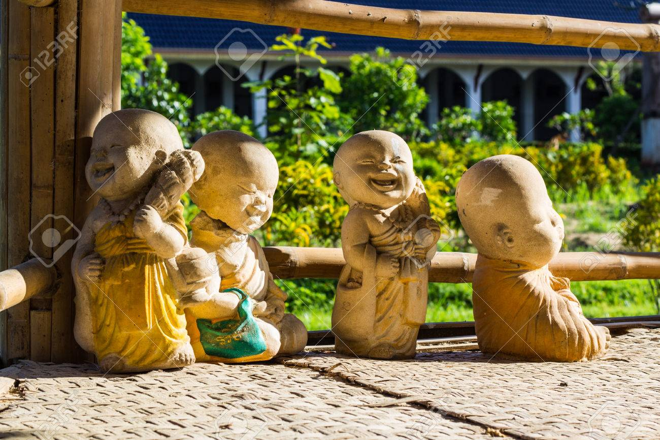 Doll clay monk used in Thailand Stock Photo - 22269478