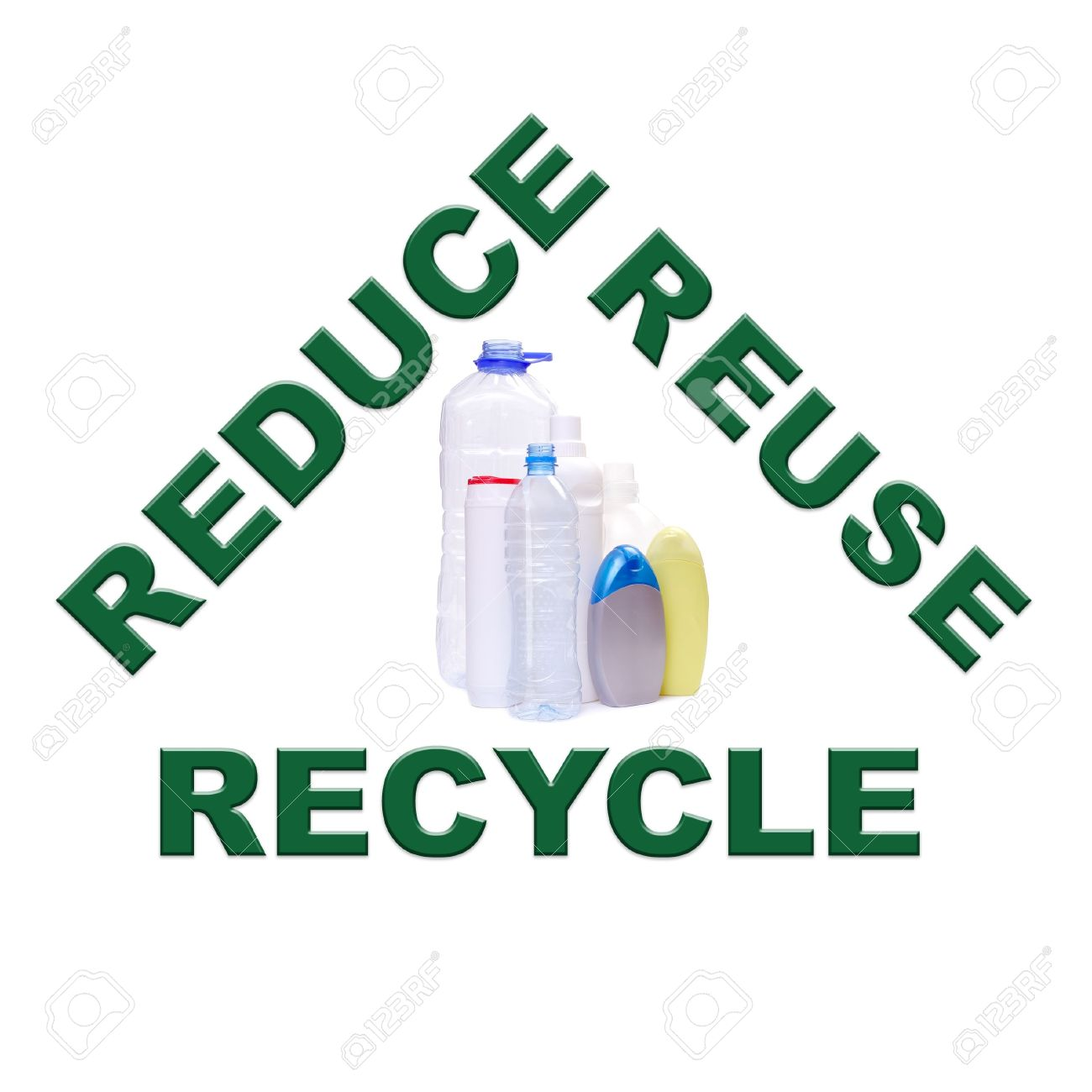 Reduce Reuse Recycle Concept Series