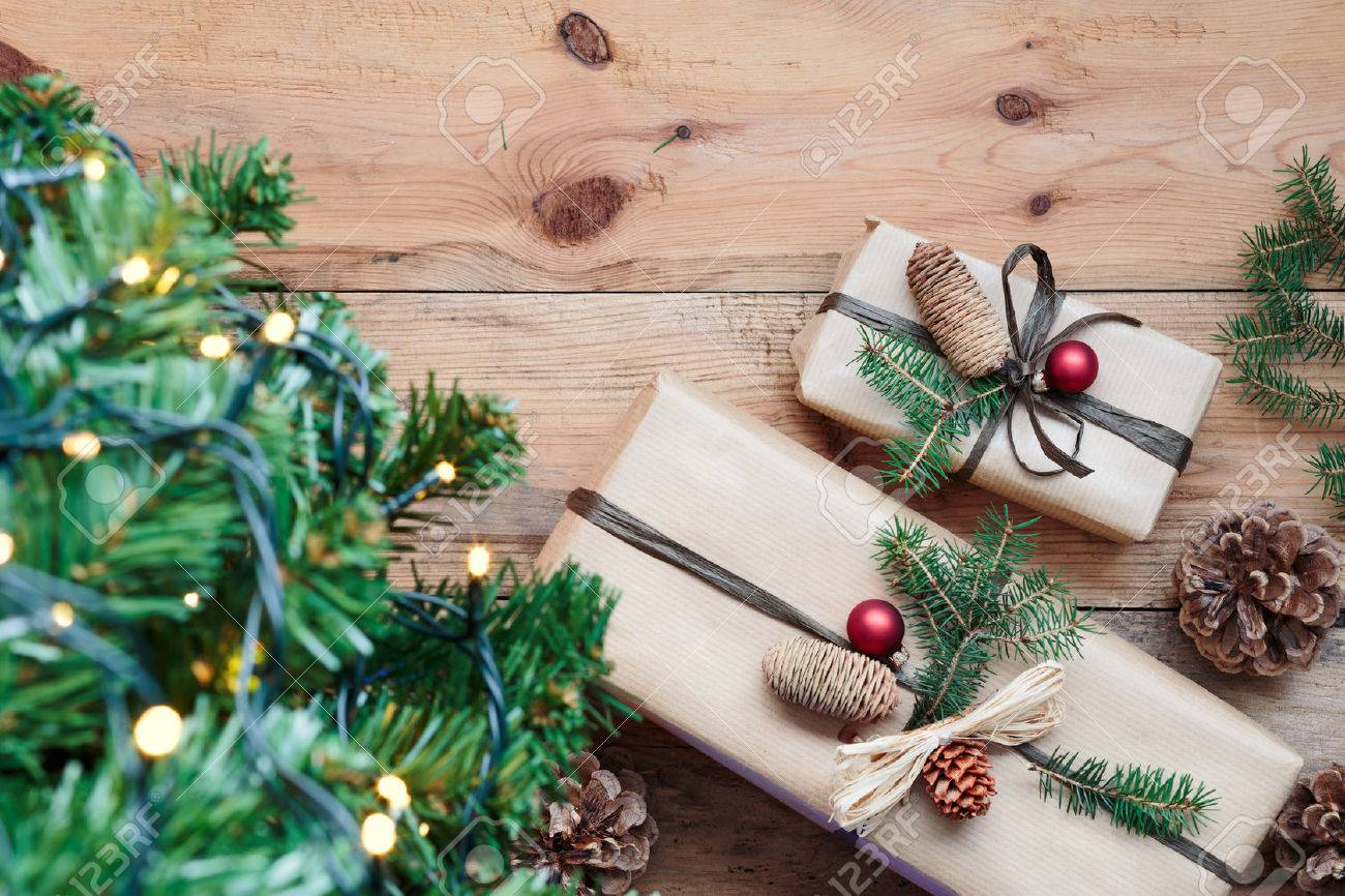 Christmas Presents Under A Tree Stock Photo Picture And Royalty