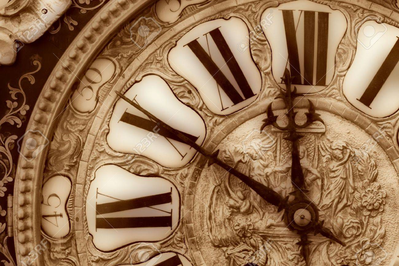 Antique Clock Royalty Free Stock Photography - Image: 2263707