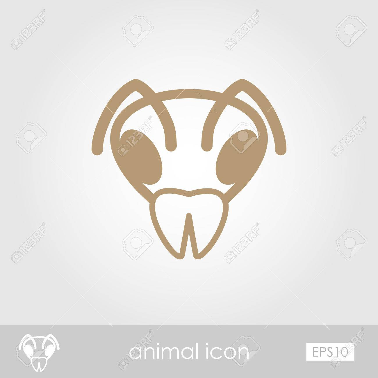 Bee wasp bumblebee outline thin icon animal head vector symbol bee wasp bumblebee outline thin icon animal head vector symbol eps 10 stock vector biocorpaavc