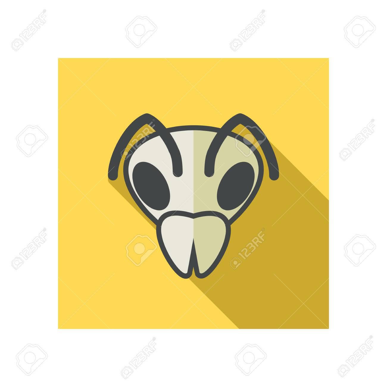 Bee wasp bumblebee flat icon animal head vector symbol eps 10 animal head vector symbol eps 10 stock vector 54426053 biocorpaavc