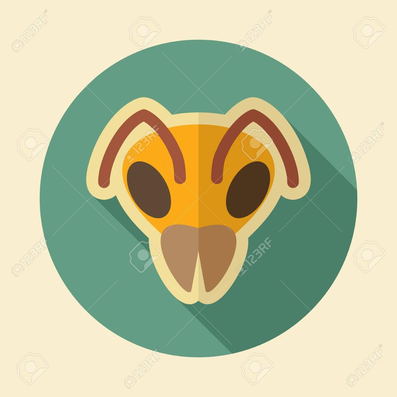Bee wasp bumblebee flat icon animal head vector symbol eps 10 animal head vector symbol eps 10 stock vector 72562186 biocorpaavc