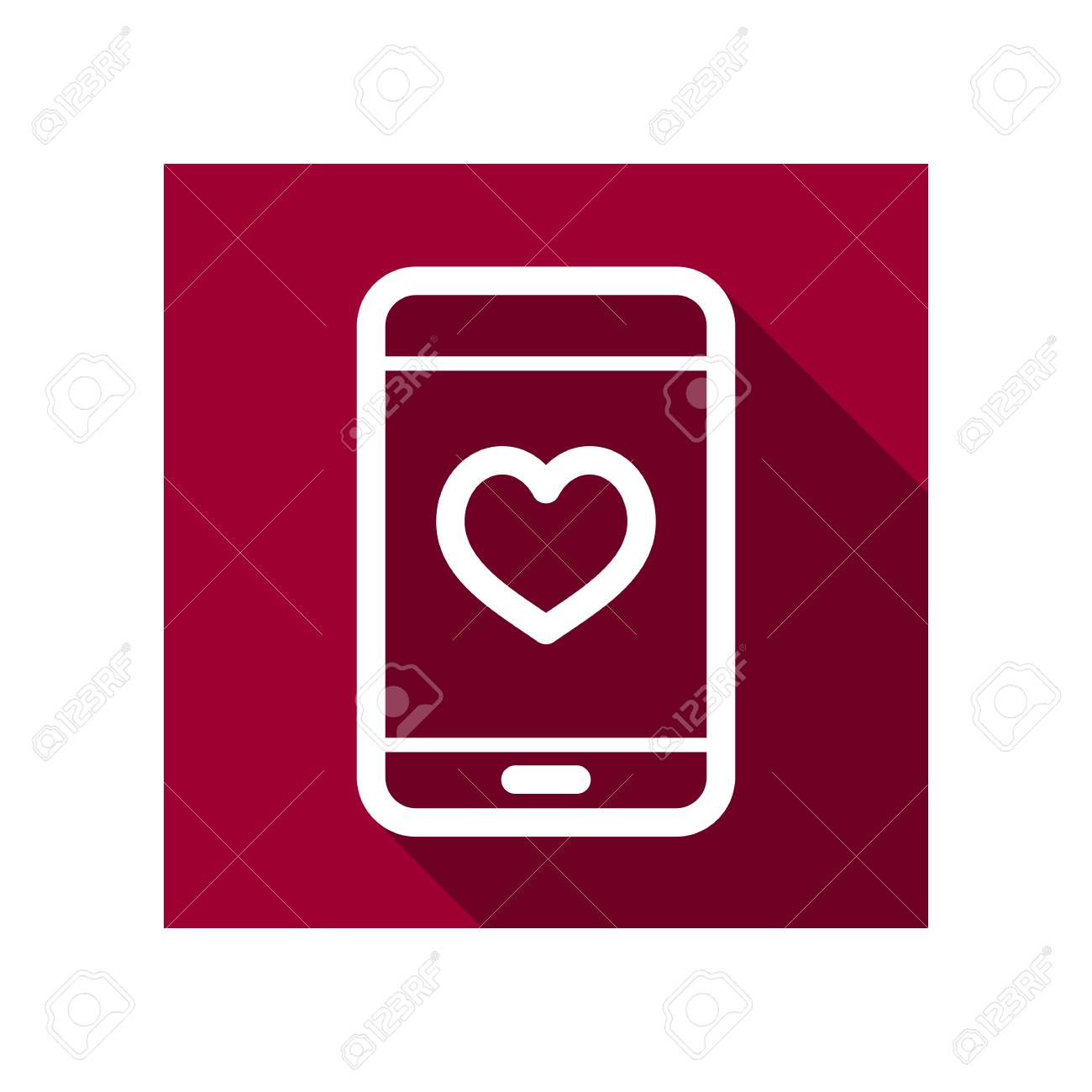 Technology Heart Smartphone Mobile Phone Romantic Telephone Call