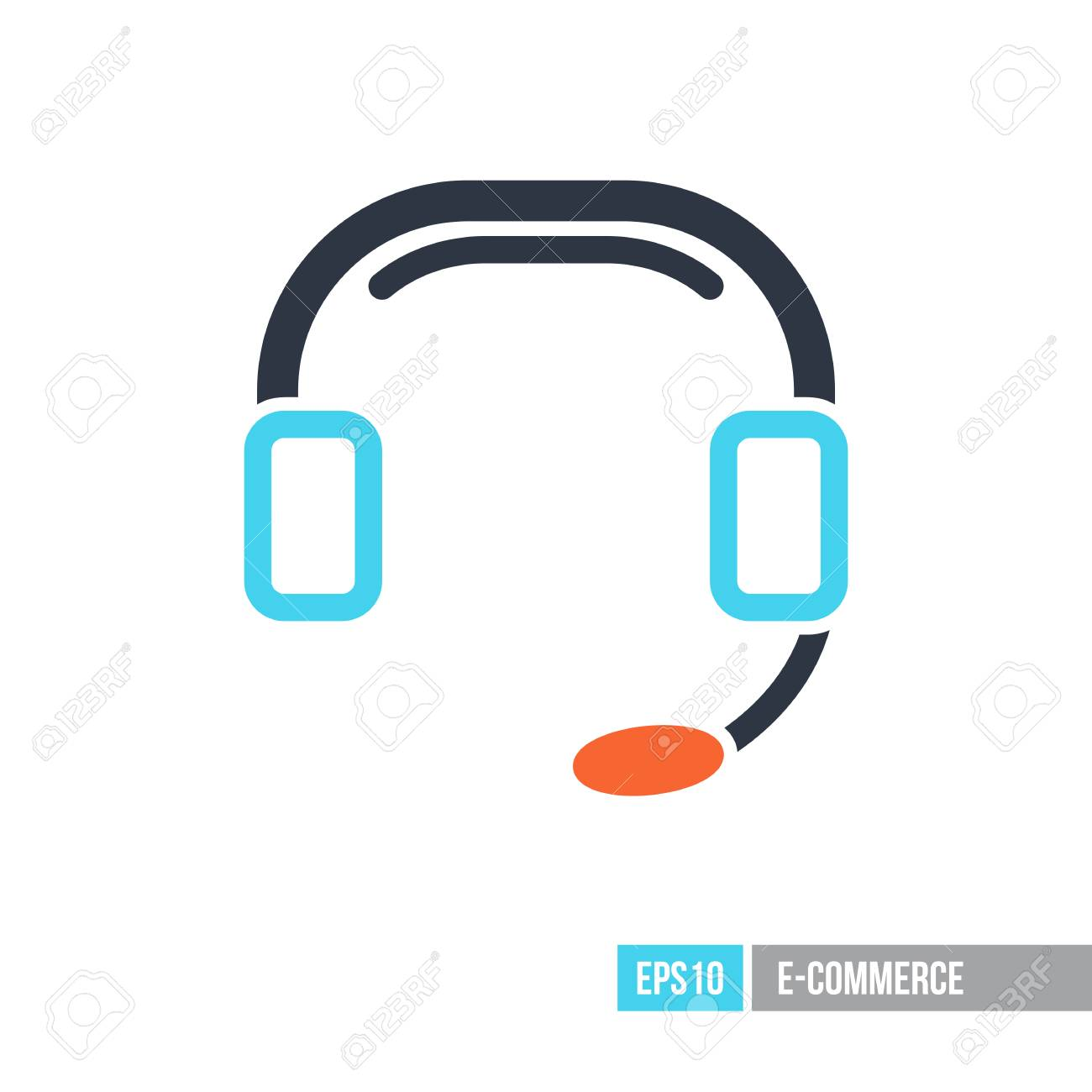 call center icon support e commerce sign graph symbol for royalty free cliparts vectors and stock illustration image 94602007 call center icon support e commerce sign graph symbol for