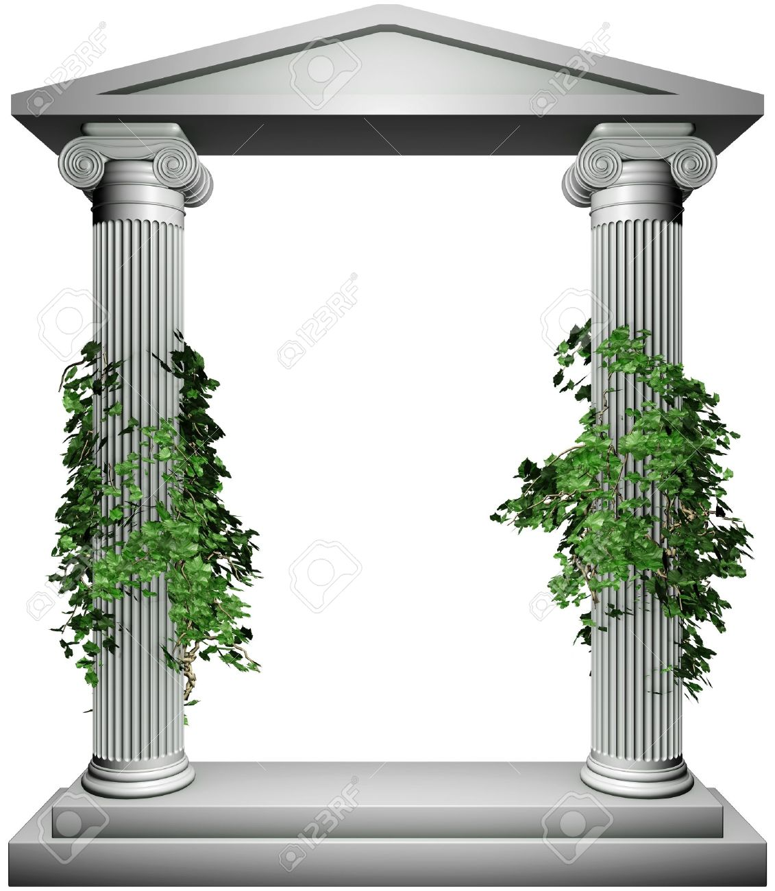 Ionic frame stock photo picture and royalty free image image ionic frame stock photo 13803865 jeuxipadfo Gallery