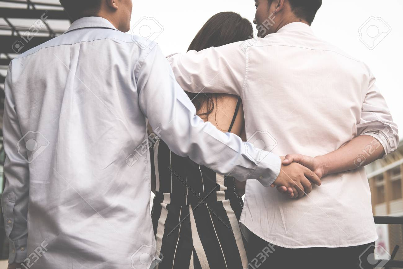 Real girlfriend threesome videos