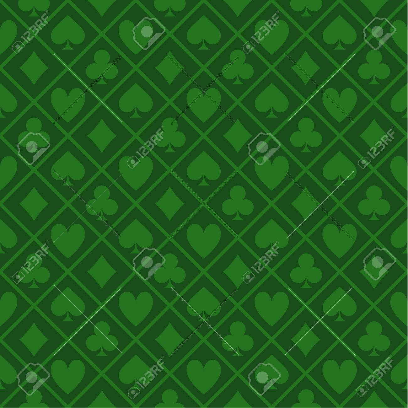 Beautiful Seamless Pattern Of Green Texture Fabric Poker Table Stock Vector   69116443