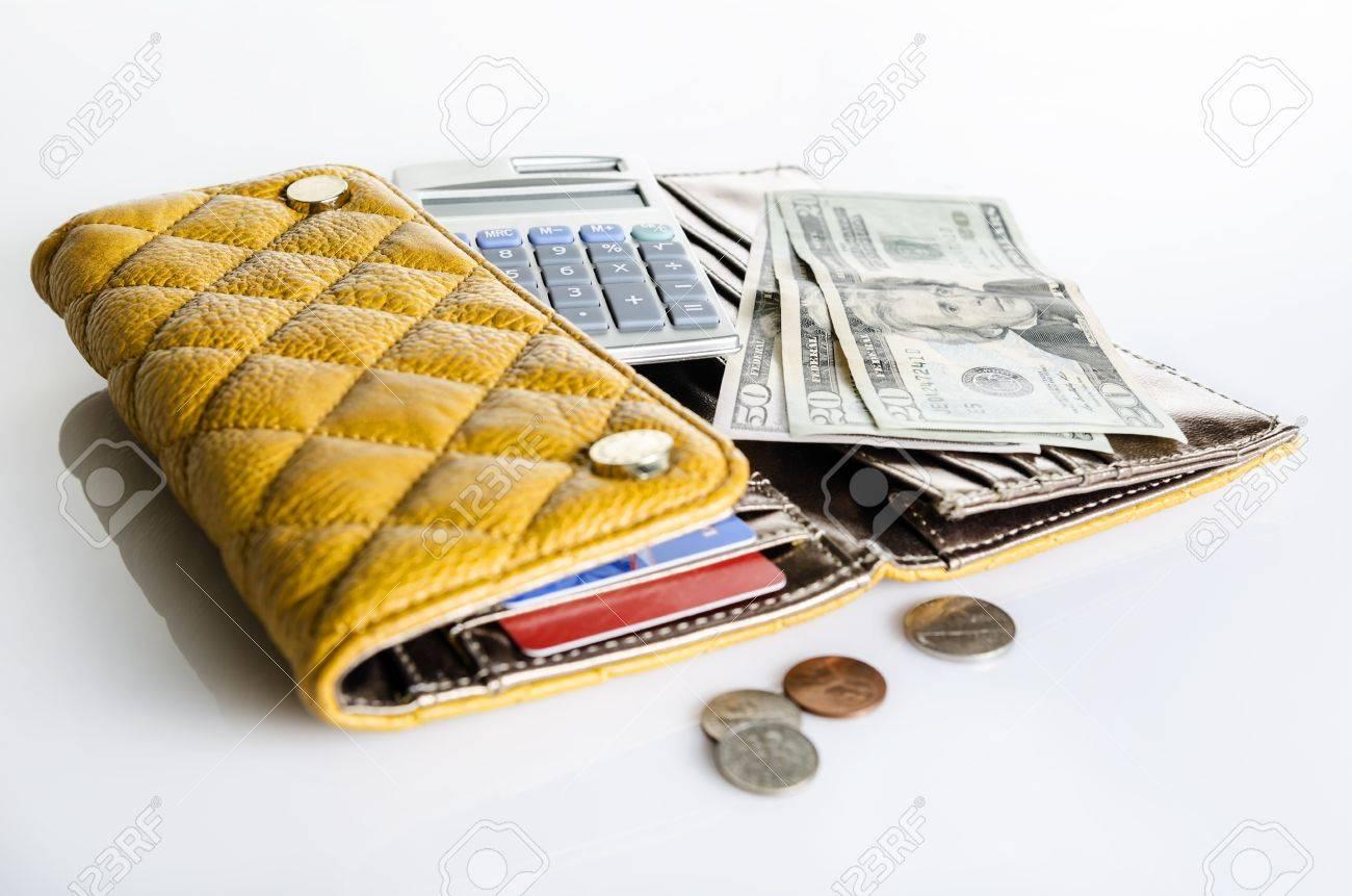 Women wallet and money - 20890415