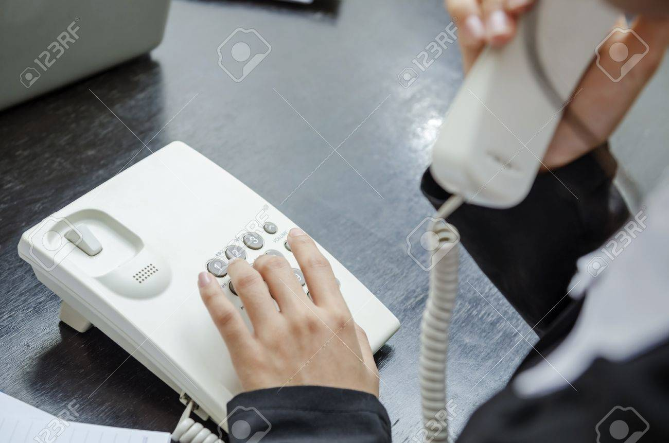 Making telephone call Stock Photo - 21958308